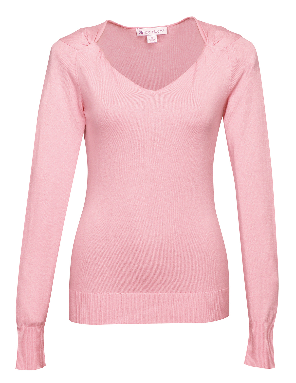Ladies Twisted V-Neck Sweater - SharperUniforms.com