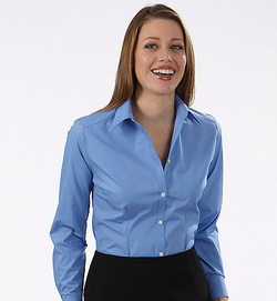 Ladies Silky Poplin Blouse - May NOT Be Returned or Exchanged