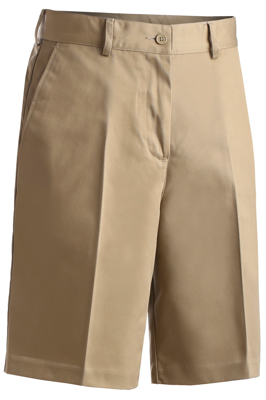 Ladies Utility Shorts: Flat Front or Pleated: SharperUniforms.com