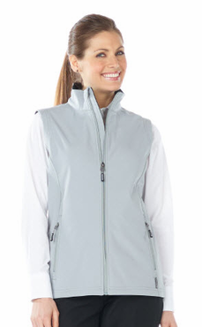 Ladies Valet Three Layer Soft Shell Water Resistant Vest