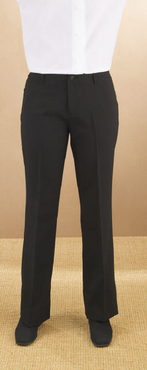 Ladies Value Polyester Low Rise Flat Front Pant