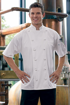 Master Chef Egyptian Cotton Short Sleeve Chef Coat