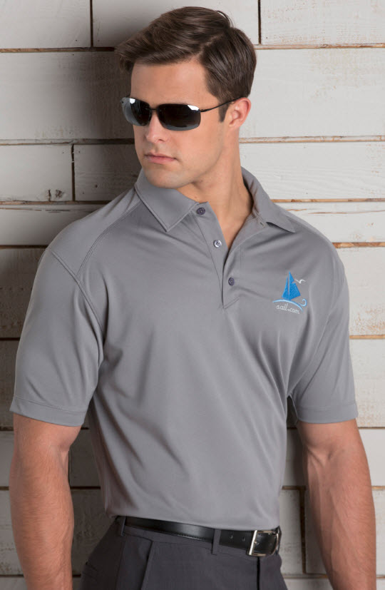 Men s Extreme Fitted Restaurant Polo Shirt 00e5631cff31