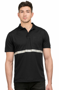Men's Extreme Valet Reflective Polo Shirt