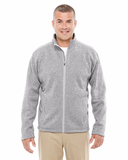 Men's Resort Hotel Full Zip Sweater Fleece Jacket