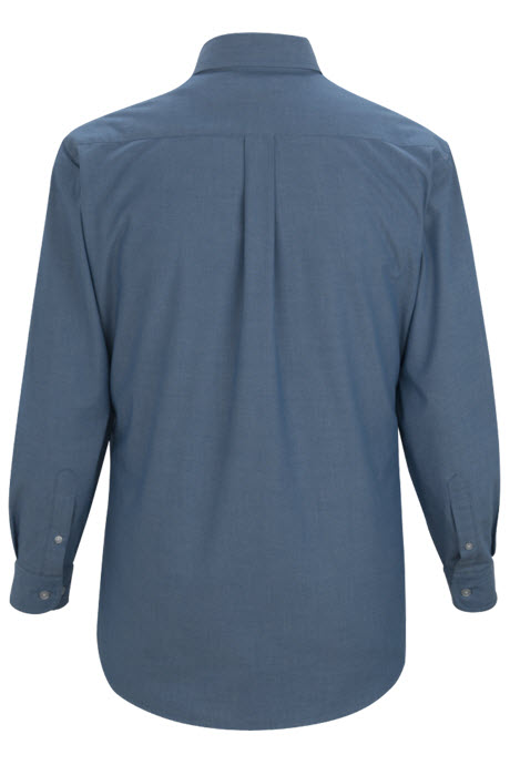 46241314 ... Men's Roll-Up Chambray Waiter Shirt with Pleated Pockets ...