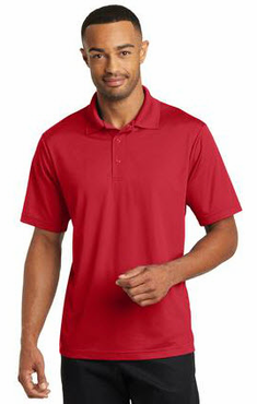 Men's Server Three Snap Button Polo Shirt