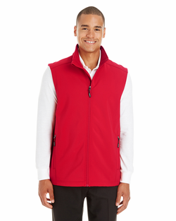 Men's Two-Layer Fleece Bonded Soft Shell Vest
