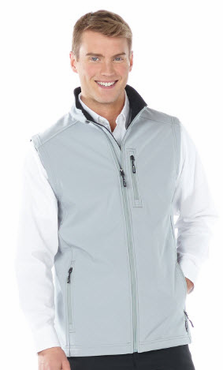 Men's Valet Three Layer Soft Shell Water Resistant Vest