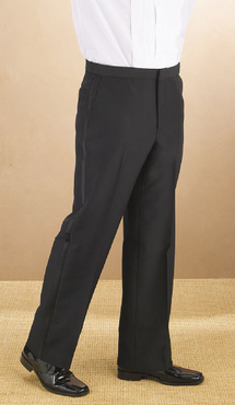 Men's Value Flat Front Tuxedo Comfort Fit Pant