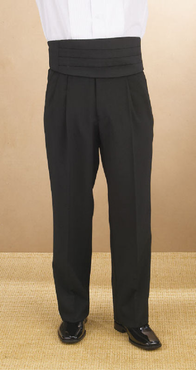 Men's Value Polyester Pleated Tuxedo Comfort Fit Pant