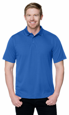 Men's Hotel Restaurant Moisture Wicking Polo Shirt (Available in Talls)