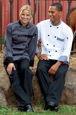 Newport Recycled Fabric Chef Coat