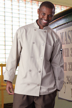 Orleans Poly/Cotton Chef Coat