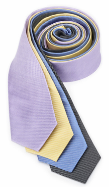 Restaurant Server Mini Mesh Silk Tie