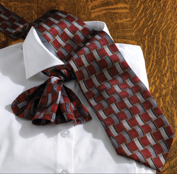 Silk Basket Weave Mens Ties & Ladies Scarves