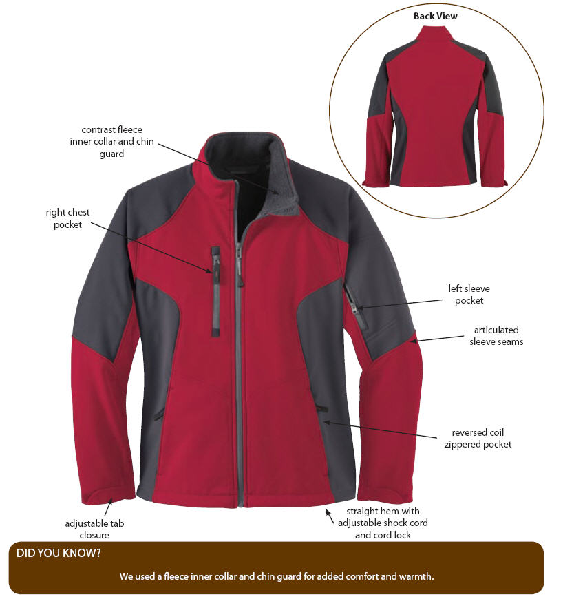 Women s Doorman-Valet Soft Shell Jacket 1d74dcb314