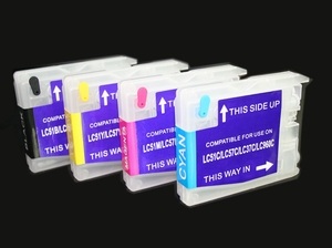 Brother LC61 Brother refillable cartridges