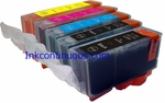Canon PGI250 CLI251 Refillable Ink Cartridge with Reset Chip, for Canon Pixma Canon PIXMA MX922,  iP8720,  iX6820,  MG5420,  MG5422,  MG5520,  MG5522,  MG5620,  MG6320,  MG6420,  MG6620,  MG7120,  MG7520,  MX722 printers