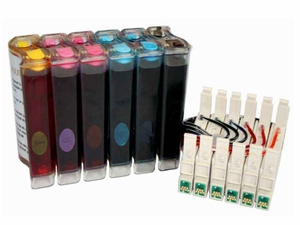 Continuous Ink System for Canon Pixma iP6600D/iP6700D printer