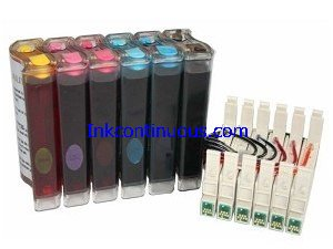 Continuous Ink System for Epson Stylus Photo R200/R300/RX500/RX600