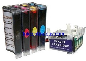 Continuous Ink System for Epson Workforce 630/633/635/645/840