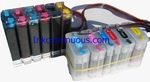 Continuous Ink System for HP DesignJet 130/90 Printer(HP 84/85)