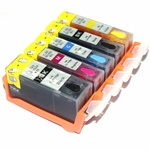 Refillable cartridges for Canon Pixma iP4820 /MG5120 /MG5220/ iX6520