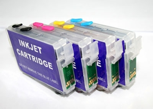 Refillable Cartridges for Epson Stylus NX420/625, workforce 320/325/520