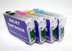 Refillable Cartridges for Epson Workforce 7010/630/633/635/645/840 printers
