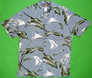 Aloha Fridays<br>Men's Hawaiian Shirt<br>Matching chest pocket<br>100% Rayon<br>