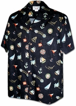 Aloha Shirts<br>Mens Hawaiian Shirts<br>Matching chest pocket<br>100% Cotton<br>