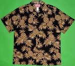 Best Hawaii Pineapple<br>Men's Hawaiian shirts<br>Matching chest pocket<br>100% Cotton<br>
