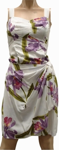 Double Orchid<br> Hawaiian Dress<br>100% Rayon<br>