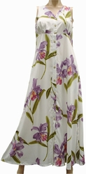 Double Orchid<br>Womens Hawaiian Dresses<br>100% Rayon<br>