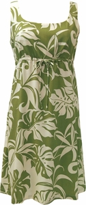 Friday Aloha Dresses<br>Tie Front  Dress<br>100% Rayon<br>