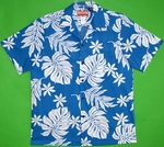Hawaiian Aloha Shirt<br>Men's Hawaiian Shirt<br>Matching Chest Pocket<br>100% Cotton<br>