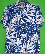 Vacation Hawaii<br>Men's Hawaiian Shirt<br>Matching chest pocket<br>100% Rayon<br>