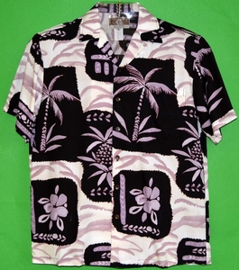 Happy shirts<br>Men's Hawaiian Shirt<br>Matching chest pocket<br>100% Rayon<br>