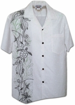 Aloha Hawaii Shirt<br>Men's Hawaiian shirts<br>Matching chest pocket<br>100% Cotton<br>