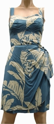 Paradise Banana<br> Hawaiian Dress<br>100% Rayon<br>
