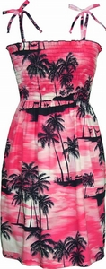 Paradise Beach<br>Hawaiian Dresses<br>100% Cotton<br>