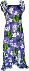 Plumeria Paradise<br>Hawaiian Muumuu<br>100% Cotton<br>