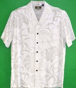 Wedding Aloha Shirts<br>Men's Hawaiian Shirt<br>Matching chest pocket<br>100% Rayon<br>