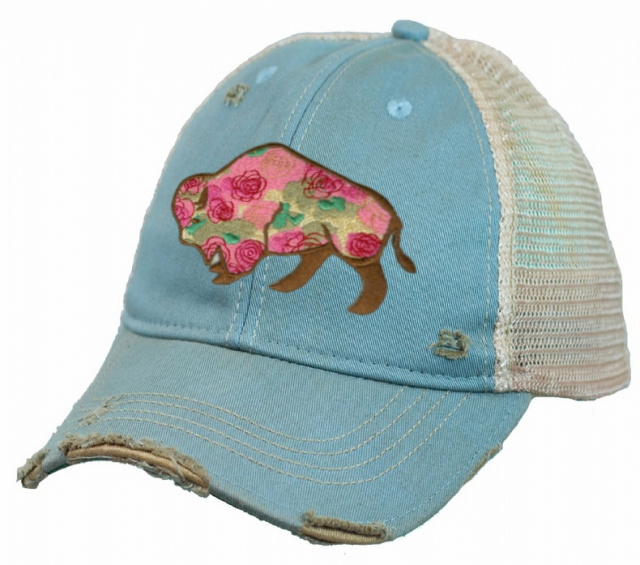 Buffalo Rose Cap Sky