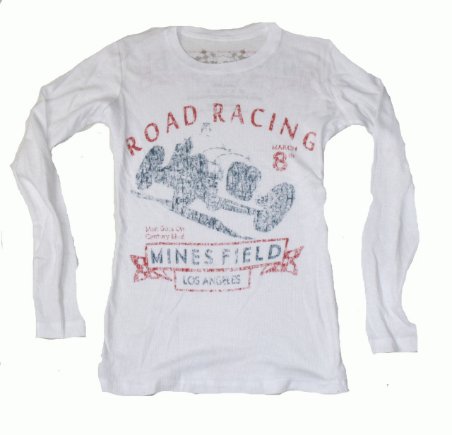 Ladies Mines Field Road Race Tee