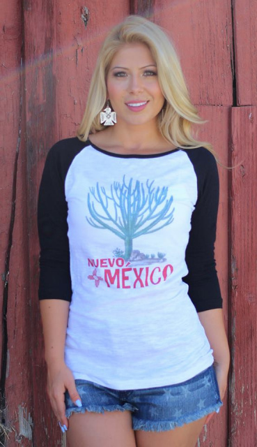 New Mexico Baseball Tee T-1898