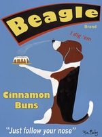 Beagle Buns - Premium Canvas Limited Edition Print