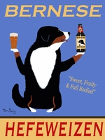 Bernese Hefeweizen - Premium Canvas Limited Edition Print