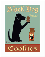 BLACK DOG COOKIES - One-of-a-kind-special